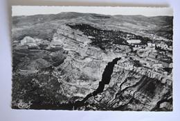 CONSTANTINE Perspective Aérienne Sur L'entrée Des Gorges A Droite La Casbah Fort De Sidi M'Cid - Constantine