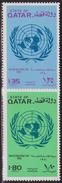 QATAR N° 432/33** ONU - Qatar