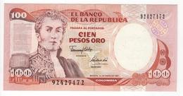 Colombie. 100 Pesos Oro. Pick N° 426e. UNC - Colombie