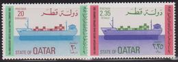QATAR N° 474/75** BATEAUX - Qatar
