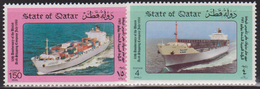 QATAR N° 531/32** BATEAUX - Qatar