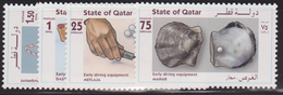 QATAR N° 742/45** PERLES - Qatar
