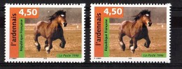 """1998 - Variété """"Trois Météores"""" (tp De Gauche) - N° 3185 Neuf ** - Cheval L'ardennais - Varieteiten: 1990-99 Postfris"""