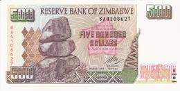 ZIMBABWE   500 Dollars   2004   Sign. Gideon Gono.   P. 11b   UNC - Zimbabwe