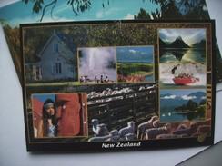 New Zealand Beatiful Land Of Contrast - Nieuw-Zeeland