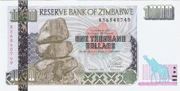 ZIMBABWE   1000 Dollars   2003   P. 12b   UNC - Zimbabwe