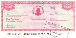 ZIMBABWE   5000 Dollars   2003   Sign.4   Type 1.   P. 16   TTB - Zimbabwe
