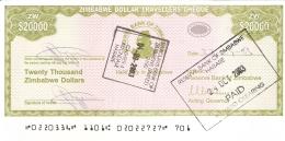 ZIMBABWE   20,000 Dollars   2003   Sign.4.   Type 1   P.   18    SUP+ - Zimbabwe