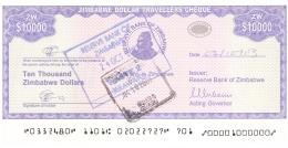 ZIMBABWE   10,000 Dollars   2003   Sign.4   Type 1.   P. 17   SUP+ - Zimbabwe