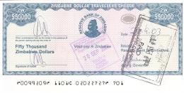 ZIMBABWE   50,000 Dollars   2003   Type 3.   P. 20   SUP+ - Zimbabwe
