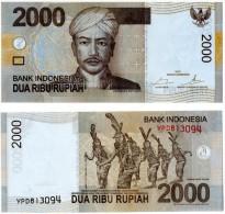 Indonésie - 2000 Rupiah 2015  (UNC) - Indonesia