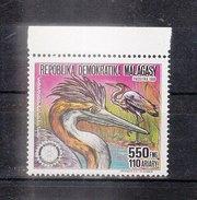 MADAGASCAR - 1988 - Timbre 845 - Héron De Madagascar - 550f - Madagaskar (1960-...)