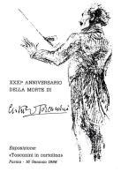 [MD0985] CPM - IN RILIEVO - PARMA - ARTURO TOSCANINI - XXXI° ANNIVERSARIO DELLA MORTE - CARTOLINA UFFICIALE - NV 1988 - Cantanti E Musicisti