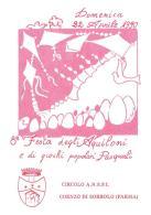 [MD0991] CPM - IN RILIEVO - COENZO DI SORBOLO (PARMA) - FESTA DEGLI AQUILONI E DI GIOCHI POPOLARI PASQUALI - NV 1990 - Parma