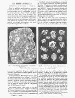LES RUBIS ARTIFICIELS Experiences De MM. FREMY  Et VERNEUIL  1888 - Minerals