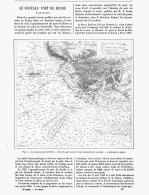 LE NOUVEAU PORT DU HAVRE  1888 - Normandie