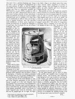BAIN PORTATIF  Systéme De M. GASTON BOZERIAN    1888 - Ohne Zuordnung