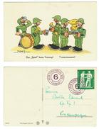 Suisse // Schweiz // Switzerland //  Militaire // Carte Humoristique Avec Timbre Militaire - Umoristiche