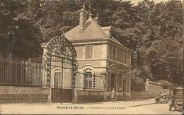 BOURG - La - REINE   ( 92 )   L'Entrée  Du  Lycée  LAKANAL   En  1920 - Bourg La Reine
