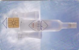 Czech Rep. C304a, Promotion - Amundsen Vodka, 2 Scans.   GEM1B (Not Symmetric White/Gold)