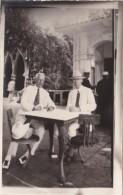 Cuba Havana Souvenir From Tropical Garden Men Enjoying A Drink R