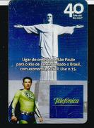 Statue Du Christ Rédempteur à RIO. Carte Telefonica - Brésil