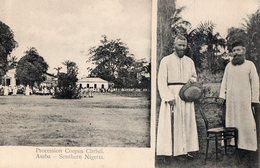 ASABA -  SOUTHERN  NIGERIA - PROCESSION CORPUS CHRISTI -  MISIONNAIRES - Nigeria