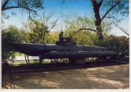 """DEUTSCHES MUSEUM - Abteilung Schiffahrt, Einmann-Unterseeboot """"Biber"""", Submarine SHIP - Submarines"""