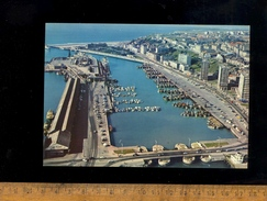BOULOGNE SUR MER Pas De Calais 62 : Vue Aérienne Le Port Et L'embarcadère Des Ferries Car Ferry Boat - Boulogne Sur Mer