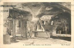 13 SALON DE PROVENCE   Les Huiles Les Moulins    2 Scans - Salon De Provence