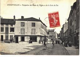 Carte Postale Ancienne De CHAUFFAILLES - Francia