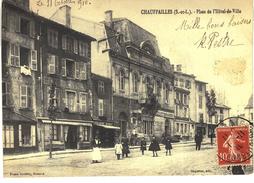Carte Postale Ancienne De CHAUFFAILLES - Altri Comuni