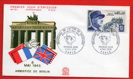8 5 1945 ARMISTICE DE BERLIN - WW2