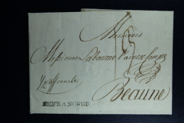 Germany Complete Letter  Altenbourg Sachsen -> Beaune France 1788 - Germania