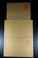 France: Carte-Lettre Mouchon 15 C   1901 B4  Avec Response Payee  Not Used - Postal Stamped Stationery