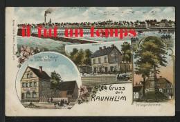 GRUSS AUS RAUNHEIM - PRECURSEUR - COULEURS - Duitsland