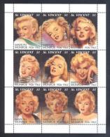 St.Vincent - 1994 Marilyn Monroe Kleinbogen MNH__(FIL-10612) - St.Vincent (1979-...)
