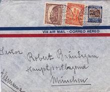 Lette Barranquilla 1937 Colombie Colombia München Munich Deutschland Correo Aereo - Colombia