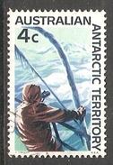 002743 AAT 1966 4c FU - Australian Antarctic Territory (AAT)