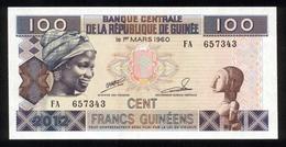 Guinee Guinea 2012, 100 Francs - UNC - FA 657343 - Guinea