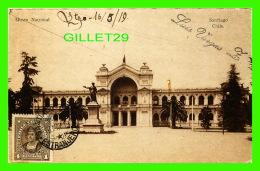 SANTIEGO, CHILI - MUSEO NACIONAL - TRAVEL IN 1919 - - Chili