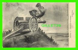 MILITARIA - NOTRE 75... CHANTE-VICTOIRE ! ANDRÉ ROSA, 1914 - ÉDITION ZUPPINGER - COQ - - Militaria