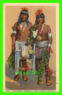 NEW MEXICO - INDIAN MEN IN CEREMONIAL DANCE COSTUME - HOTELS-SHOPS FRED HARVEY - - Zonder Classificatie