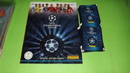 Champions League 2013-14  Album Vuoto+25 Bustine Con Figurine Panini Stikers Lot N 1,edizione Slovenja - Panini