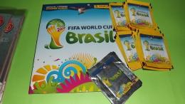 Brasil 2014  Album Vuoto+50 Bustine Con Figurine Panini Stikers - Panini