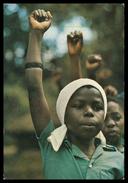 MOÇAMBIQUE - Continuadores Da Revolução Moçambicana. ( Ed. D.N.P.P.) Cartes  Postales - Mozambique