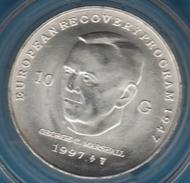 NEDERLAND 10 GULDEN 1997 GEORGE C. MARSHALL ARGENT SILVER  KM# 224 - 1980-… : Beatrix