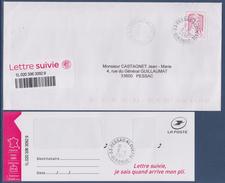 = Timbre & étiquette Lettre Suivie France 20g Marianne Et La Jeunesse Oblitéré Ciappa Kawena Nouveau Tirage Et Couleur - 2013-... Marianne Of Ciappa-Kawena