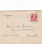 Enveloppe Du DEPOT RELAIS De * MAISIERES * - 1905 Grosse Barbe