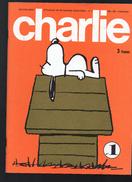 CHARLIE  Journal Plein D'humour Et De Bandes Dessinées, Mensuel, 64 Pages , N°1 - Humour